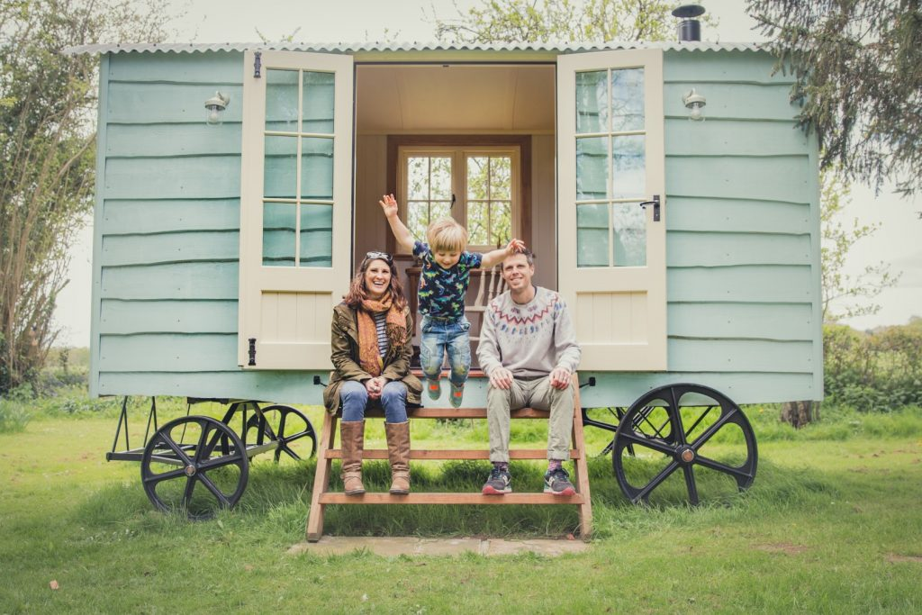 Let's chat about Shepherds' Huts in Dorset